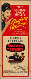 "Movie Posters:Romance, Breakfast at Tiffany's (Paramount, R-1965). Insert (14"" X 36""). Romance.. ..."