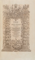 Books:World History, [Shakespeare Sourcebook]. Raphael Holinshed. The First andsecond volumes of Chronicles, comprising 1 The Description of...(Total: 2 Items)