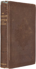 Books:Fiction, Nathaniel Hawthorne. The Scarlet Letter. Boston: Ticknor,Reed, and Fields, 1850. First printing....