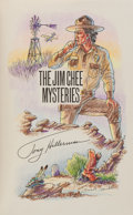 Books:Mystery & Detective Fiction, Tony Hillerman. The Jim Chee Mysteries. HarperCollins, 1990.First edition. Signed and with an original drawin...