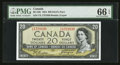 Canadian Currency: , BC-33b $20 1954 Devil's Face. ...