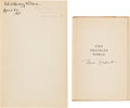 Autographs:U.S. Presidents, [Eleanor Roosevelt] and [Edith Wilson]. Group of Two Books Signedby First Ladies...