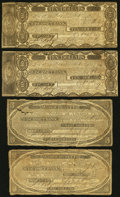Obsoletes By State:Massachusetts, Wiscasset, MA- Wiscasset Bank Notes, Letter, and More. $2; $3(approximate one inch tear); $10 (2) 1817 G16; G18; G22 Very...(Total: 8 items)