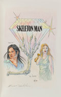 Books:Mystery & Detective Fiction, Tony Hillerman. Skeleton Man. HarperCollins, 2004. Firstedition. Signed and with an original drawing by Ernes...