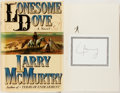 Books:Literature 1900-up, Larry McMurtry. SIGNED. Lonesome Dove. New York: Simon andSchuster, [1985]. First edition. Signed by the author o...