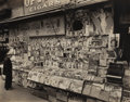Photographs:20th Century, BERENICE ABBOTT (American, 1898-1991). Newsstand, East 32ndStreet & Third Avenue, Manhattan, November 19, 1935, 1935.E...