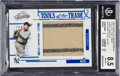 Baseball Cards:Singles (1970-Now), 2005 Absolute Memorabilia Tools of the Trade Jumbo SwatchBabe Ruth Jersey #102 BGS NM-MT+ 8.5, Serial #42/95. ...