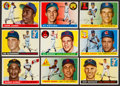 Baseball Cards:Sets, 1955 Topps Baseball Partial Set (125/206) With 9 High Numbers. ...