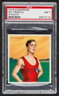 "Olympic Cards:General, 1910 T218 Hassan ""Champion Athletes"" R.E. Frizelle PSA NM 7. ..."