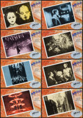 """Movie Posters:Science Fiction, Metropolis (Manuel Salvador, R-1984). Spanish Lobby Card Set of 12(9.5"""" X 13.5""""). Science Fiction.. ... (Total: 12 Items)"""