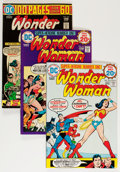 Bronze Age (1970-1979):Superhero, Wonder Woman #212-292 Group (DC, 1974-82) Condition: Average VF....(Total: 82 Comic Books)