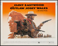 "Movie Posters:Western, The Outlaw Josey Wales (Warner Brothers, 1976). Half Sheet (22"" X 28""). Western.. ..."