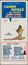 "Movie Posters:James Bond, Casino Royale (Columbia, 1967). Australian Daybill (13"" X 30"").James Bond.. ..."