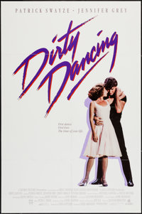 "Dirty Dancing (Vestron, 1987). International One Sheet (27"" X 41""). Romance"