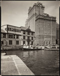 Photographs:20th Century, BERENICE ABBOTT (American, 1898-1991). Battery, Foot of WestStreet , from Changing New York, May 12th, 1936. Vintage ge...