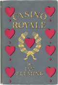 Books:Fiction, Ian Fleming. Casino Royale. London: Jonathan Cape, [1953]. First edition of the first James Bond novel....