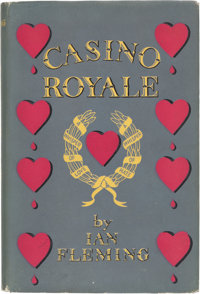 Ian Fleming. Casino Royale. London: Jonathan Cape, [1953]. First edition of the first James Bon