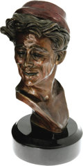 Movie/TV Memorabilia:Memorabilia, A James Dean Bust by Kenneth Kendall, Circa 1980s....