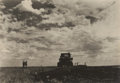 Photographs:20th Century, MARGARET BOURKE-WHITE (American, 1904-1971). Soukhoz No.2-Rikud,U.S.S.R, 1930. Gelatin silver. 4-1/2 x 6-3/8 inches (11...