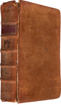 Books:World History, Raphael Holinshed. The firste volume of the Chronicles ofEngland, Scotlande, and Irelande... London: Imprinted [by ...