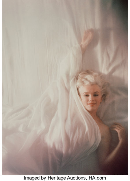 DOUGLAS KIRKLAND (Canadian, b. 1934)Marilyn, from Under the Sheets, 1961Chromogenic19-1/2 x 14 inches (49.5 x 35.6...