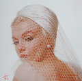 Photographs:20th Century, BERT STERN (American, 1929-2013). Marilyn Monroe in Hat andVeil, from The Last Sitting, 1962. Archival pigment,200...