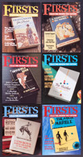 Books:Books about Books, [Bibliography]. Firsts Magazine. [Firsts Magazine,1991-2013]. A near complete run of this valuable referencemagazi... (Total: 239 Items)