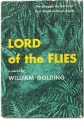Books:Fiction, William Golding. Lord of the Flies. New York: Coward-McCann, Inc., 1955. First American edition....