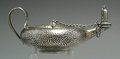 Silver Smalls:Cigar Lamps, AN AMERICAN HAMMERED SILVER CIGAR LAMP, Gorham Manufacturing Co.,Providence, Rhode Island, circa 1890. Marks: (lion-anchor-...