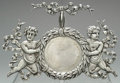 Silver Smalls:Other , AN AMERICAN SILVER FIGURAL WATCH STAND, George W. Shiebler &Co., New York, New York, circa 1890. Marks: (winged S),STERL...