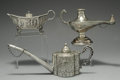 Silver Smalls:Cigar Lamps, A GROUP OF THREE CONTINENTAL SILVER CIGAR LAMPS, Various makers,circa 1900. Marks: (various maker's marks). 3-1/4 inches h...(Total: 3 Items)