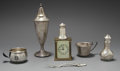 Silver Smalls:Other , A GROUP OF THIRTY AMERICAN SILVER AND BRASS ITEMS, Various makers,circa 1900. Marks: (various maker's marks), STERLING...(Total: 30 Items)