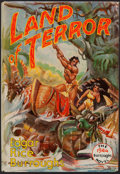 Books:Science Fiction & Fantasy, Edgar Rice Burroughs. Land of Terror. Burroughs, 1944. First edition. From a private collection in North Carol...