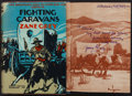 Books:Fiction, Zane Grey. Fighting Caravans. Harper & Brothers, 1929.First edition. Inscribed. From a private collection...