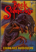 Books:Science Fiction & Fantasy, Edgar Rice Burroughs. Back to the Stone Age. Burroughs, 1937. First edition. From a private collection in Nort...