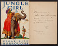 Books:Science Fiction & Fantasy, Edgar Rice Burroughs. Jungle Girl. Burroughs, 1932. First edition. Inscribed by ERB to his brother. From a...