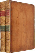 Books:Literature Pre-1900, John Milton. Paradise Lost. [with]: Paradise Regain'd... To Which Is Added Samson Agonistes: and Poem... (Total:2 Items)