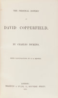 Books:Literature Pre-1900, Charles Dickens. The Personal History of David Copperfield.London: Bradbury and Evans, 1850. First edition, fir...