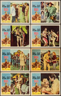 "Movie Posters:Adventure, Mister Moses & Other Lot (United Artists, 1965). Lobby CardSets of 8 (2) (11"" X 14""). Adventure.. ... (Total: 16 Items)"