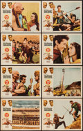 "Movie Posters:Adventure, Kings of the Sun & Others Lot (United Artists, 1963). LobbyCard Sets of 8 (4) (11"" X 14""). Adventure.. ... (Total: 32 Items)"