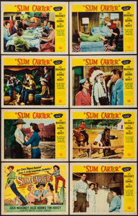 "Slim Carter & Other Lot (Universal International, 1957). Lobby Card Sets of 8 (2) (11"" X 14""). Comedy..."