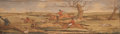 Books:Fore-edge Paintings, [Fore-Edge Painting]. John Bunyan. The Pilgrim's Progress.London: Seeley, 1801. Two volumes in one. With a fo...