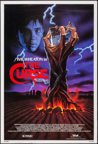 """The Curse & Others Lot (Trans World, 1987). One Sheets (7) (27"""" X 41""""). Horror. ... (Total: 7 Items)"""