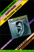 "Movie Posters:Rock and Roll, The Roaring Silence by Manfred Mann's Earth Band (Warner Bros.Records, R-1977). Record Album Poster (23.25"" X 35""). Rock an..."