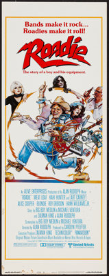 "Roadie (United Artists, 1980). Insert (14"" X 36"") Style B. Comedy"