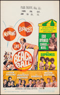 """Movie Posters:Rock and Roll, Beach Ball (Paramount, 1965). Window Card (14"""" X 22""""). Rock andRoll.. ..."""