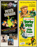 "Movie Posters:Fantasy, Darby O'Gill and the Little People & Other Lot (Buena Vista, 1959). Inserts (2) (14"" X 36""). Fantasy.. ... (Total: 2 Items)"