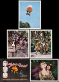 """Movie Posters:Fantasy, Finian's Rainbow (Warner Brothers-Seven Arts, 1968). Deluxe Title Lobby Card & Deluxe Lobby Cards (4) (12.5"""" X 16""""). Fantasy... (Total: 5 Items)"""