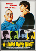 "Movie Posters:Rock and Roll, A Hard Day's Night (Atlas Film, R-1981). German A1 (23.5"" X 33"").Rock and Roll.. ..."