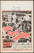 "Movie Posters:Rock and Roll, Hey, Let's Twist (Paramount, 1962). Window Card (14"" X 22""). Rockand Roll.. ..."